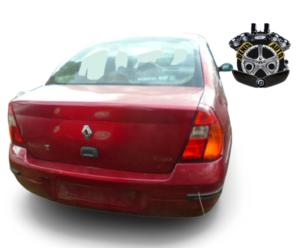 dezmembrari auto renault clio 1.4 16V 2001 rosu